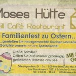 Moses Hütte Ostern 2011