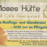 Ausflugs- und Wanderziel Moses Hütte SchiederSee